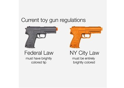 Five major retailers have agreed to stop selling realistic-looking toy guns in New York state, the attorney general said Monday.