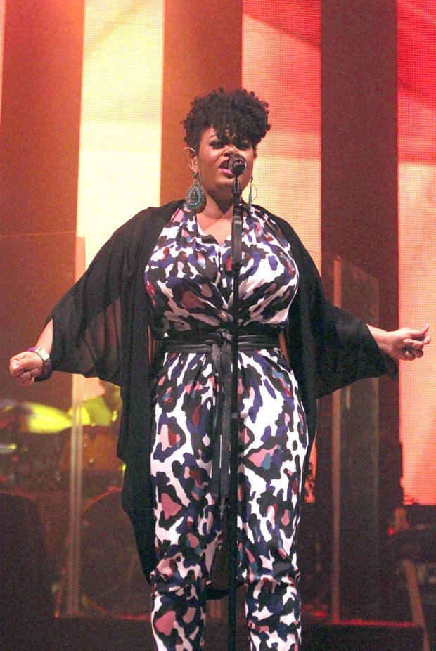 Jill Scott performing at the Orpheum Theatre in Downtown Memphis on Tuesday night (Aug. 4). (Photo: Warren Roseborough)