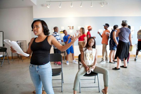 "Young people participating in ART 180's summer program will perform an original play they wrote called ""#BlackLivesMatter."""