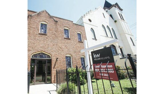 Sharon Baptist Church in Jackson Ward once again is looking for a buyer. The church's historic sanctuary at 22 E. ...