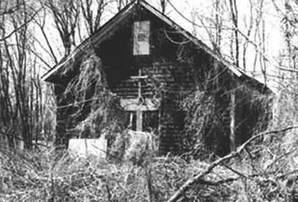 An undated photo of the Cherry Hill African American Union Methodist Church.