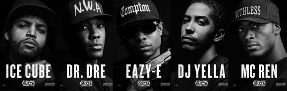 Straight Outta Compton is a nostalgic story about the rise of the gangster rap group N.W.A.