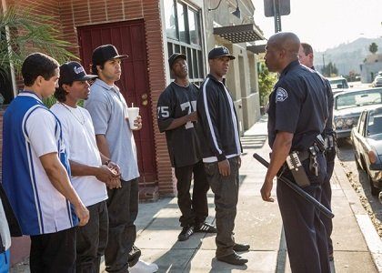 """Straight Outta Compton"" went to the top of the charts this weekend with one of the biggest surprises of the ..."