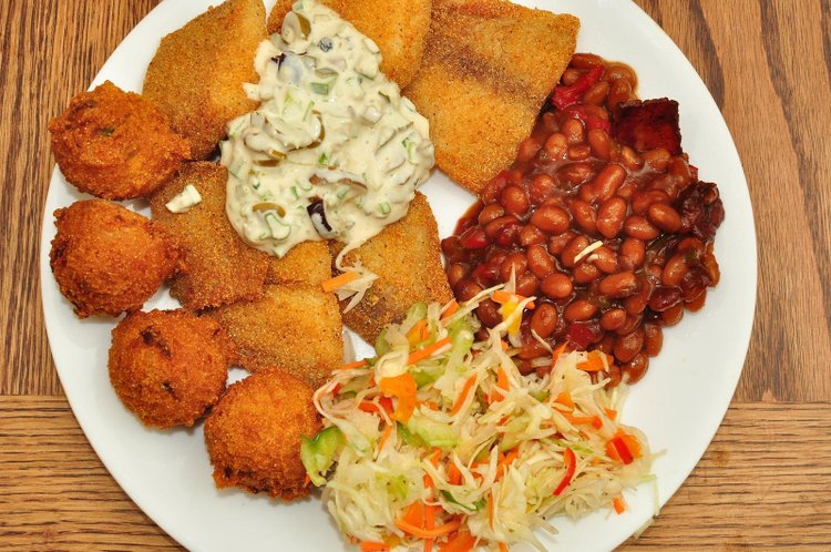 Church fish fry friday the portland observer for Fried fish dinner