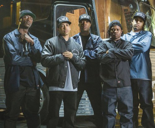 The boys from Compton smashed opening weekend expectations!