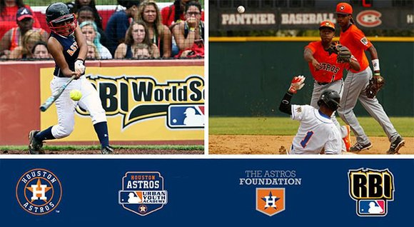 All three of the Houston Astros RBI baseball and softball teams advanced to the 2015 MLB RBI World Series this ...