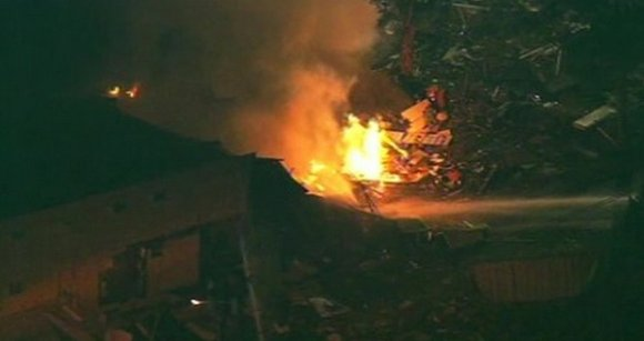 A gas leak at a Motel 6 in Bremerton, Washington, caused an explosion so severe it brought down a section ...