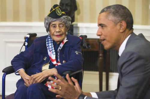 An African-American woman who was believed to be the nation's oldest veteran at 110 has died, about a month after ...