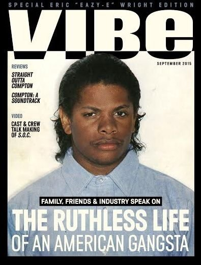 """VIBE awards its latest cover to Eazy-E in honor of """"Straight Outta Compton."""""""