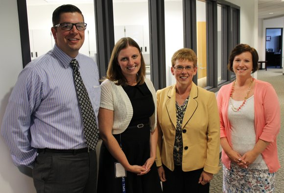 New staff are in place for the 2015-16 school year.