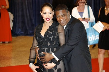 Tracy Morgan has married the woman who has stood beside him since his terrible auto accident.