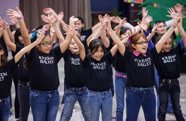 For more than 50 years, Houston Ballet's Education and Community Engagement department has introduced children to the beauty and grace ...