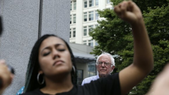 Sanders' reputation as a progressive should in no way give him a pass on racial justice issues. He voted for ...