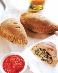 Calzones provide a fun and tasty alternative to pizza. Home cooks who want to think outside the pizza box.