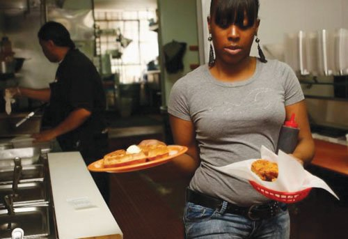 A group of Portlanders are encouraging the patronage of African-American-owned restaurants this weekend as part of National Black Business Month.