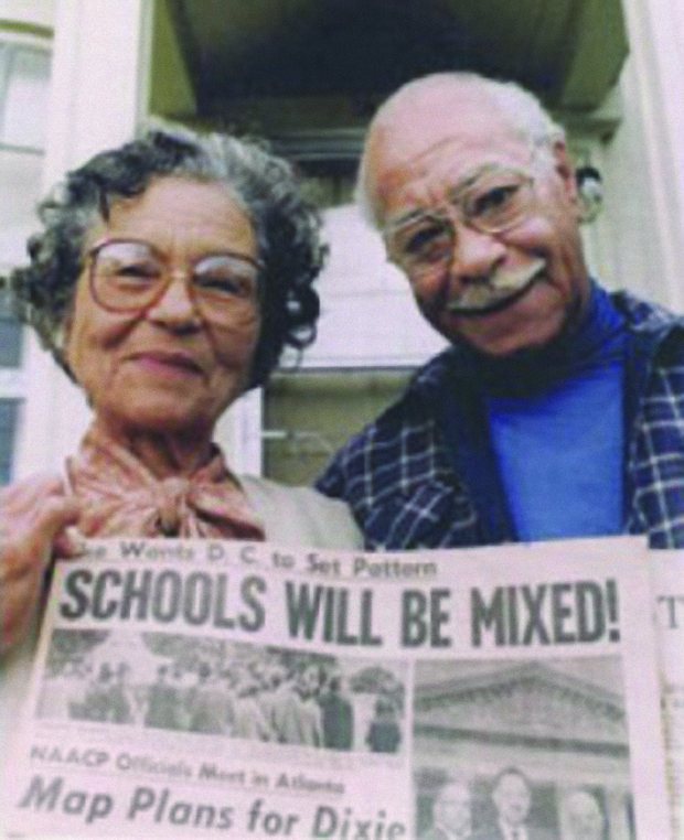 Verdell and Otto Rutherford assembled thousands of rare documents, newspapers, and photographs recording the history of African Americans. This family photo was taken in front of their historic Portland home in the 1950s and is part of a historic collection at Portland State University.