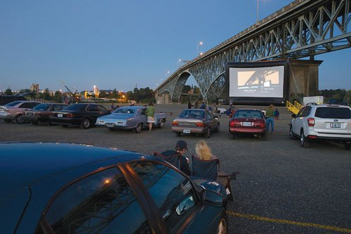 The Northwest Film Center and Zidell are welcoming the community to a unique, pop-up outdoor film series.