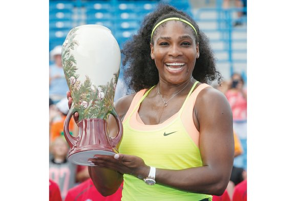 Serena Williams got ready for the U.S. Open with a victory Sunday at the Western & Southern Open Tournament in ...