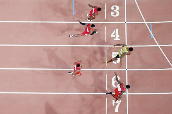 Bolt does it again Usain Bolt still is the world's fastest human. The 29-year-old Jamaican kept that title by nipping ...