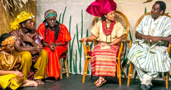 I'm No Fool! is an original play based on African folklore. Presented by the Roots for Youth African Children's Theater, ...