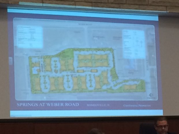 The Springs at Weber will offer high-end apartment living for Romeoville residents.