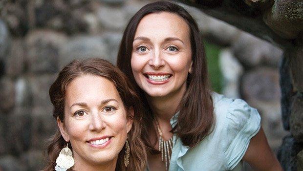 Sierra Rothberg (left) and Marie Zemler Wu, co-founders of Lusterity.