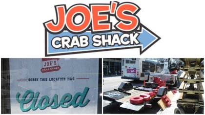 Joe's Crab Shack closure