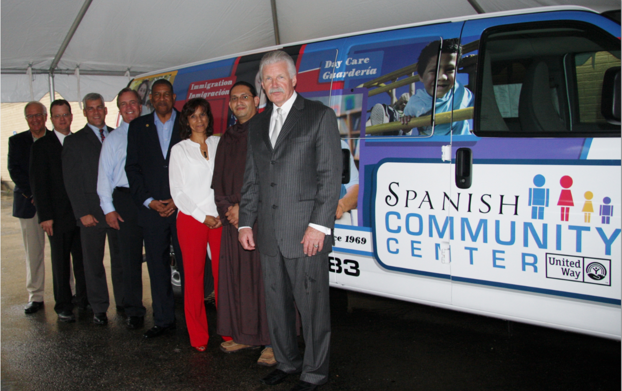 State 39 s attorney d 39 arcy autos donate van to spanish for D arcy motors joliet