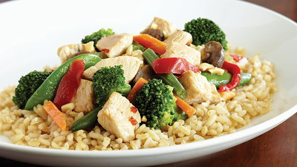 This recipe contains low-fat protein, fiber and complex carbohydrates, all of which can benefit mental health.