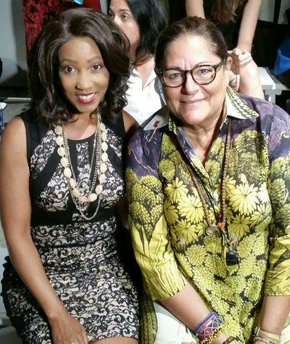 Vaughn and NYFW Founder Fern Mallis