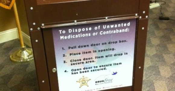 The police department has partnered with Covanta Secure Services to dispose of the unwanted or unused pharmaceuticals free of charge.