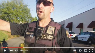 A man who films the police has filed a federal lawsuit against the Portland Police Bureau and the city alleging ...