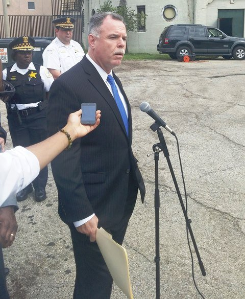 Chicago Police Department Supt. Garry McCarthy makes a plea to the public to come forth with information about a toddler's remains that were found in the Garfield Park lagoon in Chicago.