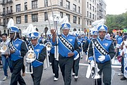 Cheney University Marching Band at the African American Day Parade