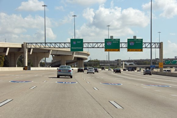 It was around 9:49 a.m. Thursday when Houston police reported that a construction worker was struck on the East Loop ...