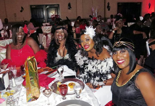 """Tickets for the Roaring '20s-themed """"Stompin' at the Savoy"""" fundraiser are on sale. The event includes dinner, dancing and a Best Dressed Contest."""