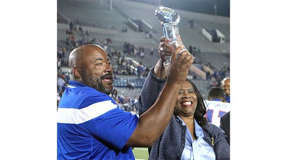 """Amid expectations, TSU president embraces """"an awesome blessing"""""""
