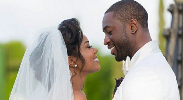 Gabrielle Union And Dwyane Wade Celebrate One-Year
