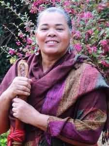 Peacewalker, author and humanitarian Audri Scott Williams