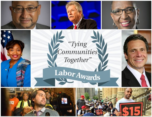 Although they're depicted as operating with different agendas in mind, the annual New York Amsterdam News Labor Breakfast shows what ...