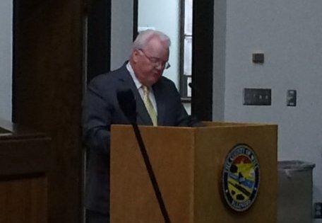 Will County Executive Larry Walsh presents the 2016 county budget.