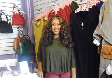 Taylor Alexander, 23, reopened her Baltimore-based business— Flawless Damsels Boutique— for a second time on August 29, 2015.