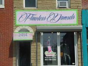 Flawless Damsels Boutique, located at 2414 E. Monument Street.