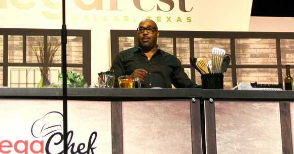A few of Dallas' top chefs showed off their culinary skills at the first MegaChef Cook-Off held during MegaFest at ...