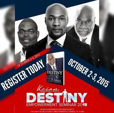 Bishop T D  Jakes Offers Key Insights At Destiny Empowerment