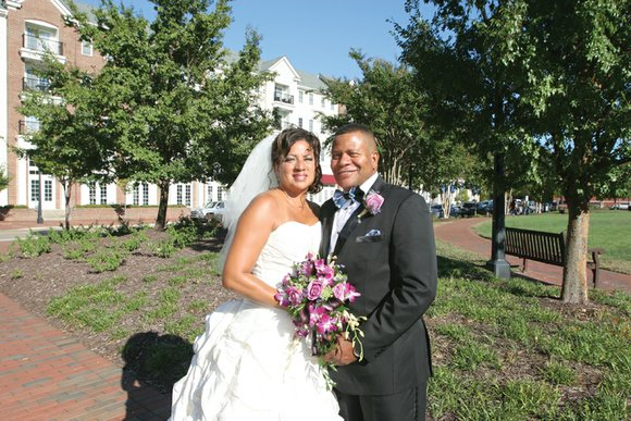 Sandra Jones and Col. Terence Singleton are newlyweds. The couple married Saturday, Sept. 19, at New Zion Baptist Church in ...