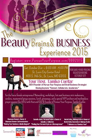 First Bank (Florissant Dierbergs) will serve as the headlining sponsor for The Beauty, Brains & Business Experience 2015 - an ...