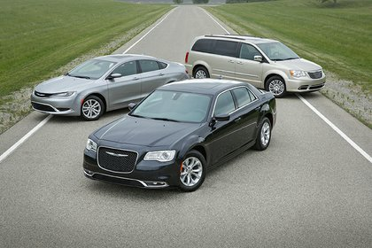 The family of Chrysler vehicles