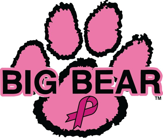 Pink Bear Paw Decals Raise Funds for National Breast Cancer