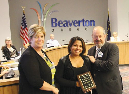 The city of Beaverton and Beaverton Area Chamber of Commerce honored a local minority-owned business this quarter to celebrate their ...